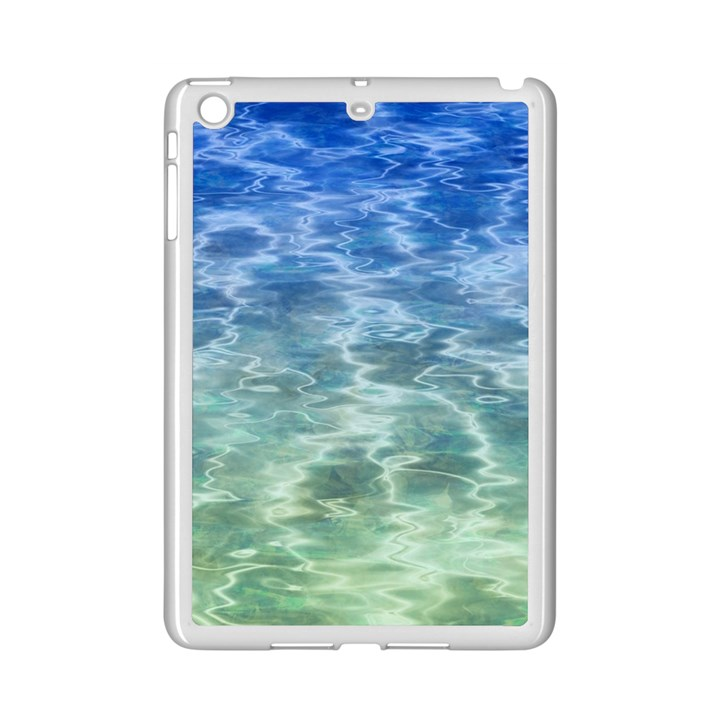 Water Blue Transparent Crystal iPad Mini 2 Enamel Coated Cases
