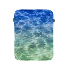 Water Blue Transparent Crystal Apple Ipad 2/3/4 Protective Soft Cases by HermanTelo