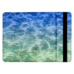 Water Blue Transparent Crystal Samsung Galaxy Tab Pro 12.2  Flip Case Front