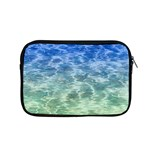 Water Blue Transparent Crystal Apple MacBook Pro 15  Zipper Case Front