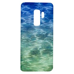 Water Blue Transparent Crystal Samsung Galaxy S9 Plus Tpu Uv Case by HermanTelo