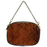 Fur Skin Bear Chain Purse (Two Sides) Front