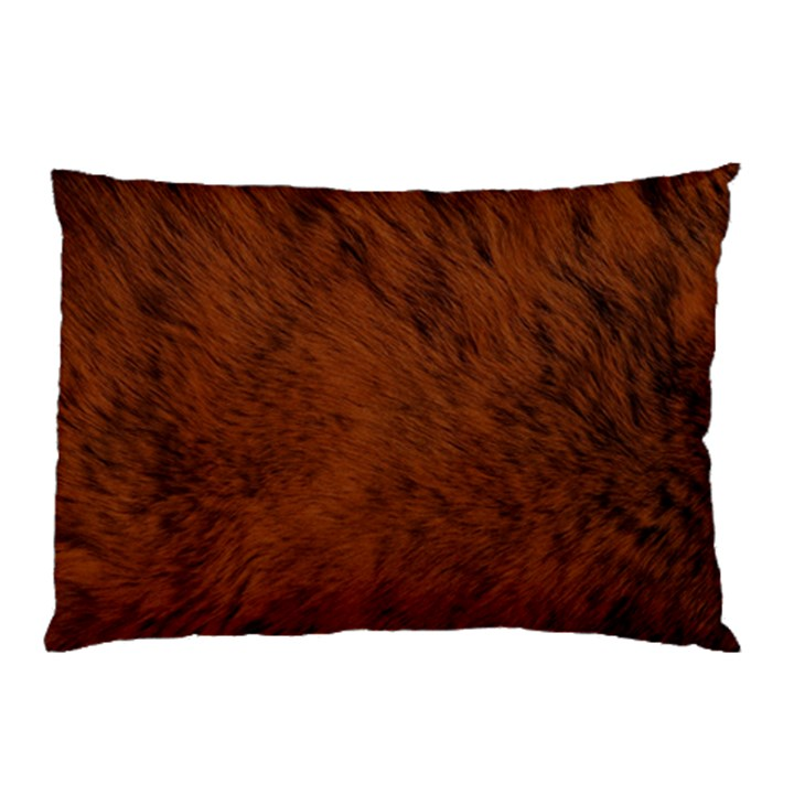 Fur Skin Bear Pillow Case