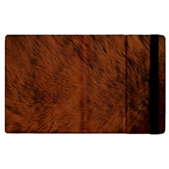 Fur Skin Bear Apple Ipad 2 Flip Case