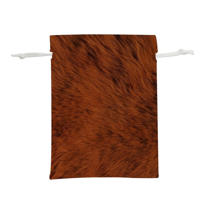 Fur Skin Bear Lightweight Drawstring Pouch (S)
