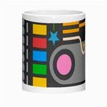 Pattern Geometric Abstract Colorful Arrows Lines Circles Triangles Morph Mugs Center