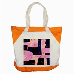 Vibrant Tropical Dot Patterns Accent Tote Bag by Vaneshart