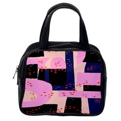 Vibrant Tropical Dot Patterns Classic Handbag (one Side) by Vaneshart