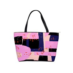 Vibrant Tropical Dot Patterns Classic Shoulder Handbag by Vaneshart