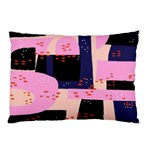 Vibrant Tropical Dot Patterns Pillow Case (Two Sides) Back