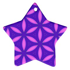Pattern Texture Backgrounds Purple Ornament (Star)