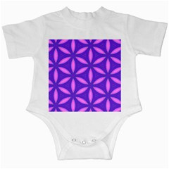 Pattern Texture Backgrounds Purple Infant Creepers