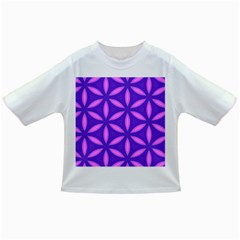 Pattern Texture Backgrounds Purple Infant/Toddler T-Shirts