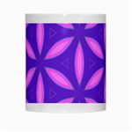 Pattern Texture Backgrounds Purple White Mugs Center