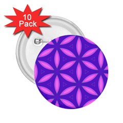Pattern Texture Backgrounds Purple 2.25  Buttons (10 pack)