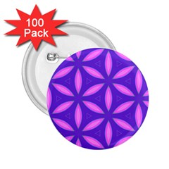 Pattern Texture Backgrounds Purple 2.25  Buttons (100 pack)