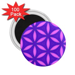 Pattern Texture Backgrounds Purple 2.25  Magnets (100 pack)