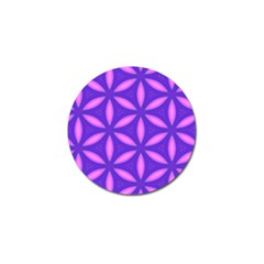 Pattern Texture Backgrounds Purple Golf Ball Marker (10 Pack) by HermanTelo