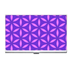 Pattern Texture Backgrounds Purple Business Card Holder