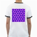 Pattern Texture Backgrounds Purple Ringer T Back