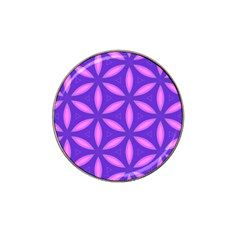 Pattern Texture Backgrounds Purple Hat Clip Ball Marker (4 pack)