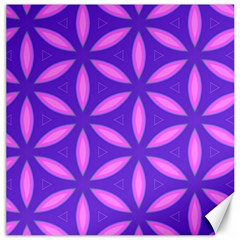 Pattern Texture Backgrounds Purple Canvas 16  X 16  by HermanTelo
