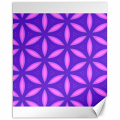 Pattern Texture Backgrounds Purple Canvas 16  X 20  by HermanTelo