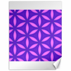 Pattern Texture Backgrounds Purple Canvas 18  X 24  by HermanTelo