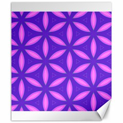 Pattern Texture Backgrounds Purple Canvas 20  X 24  by HermanTelo