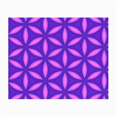 Pattern Texture Backgrounds Purple Small Glasses Cloth (2 Sides)