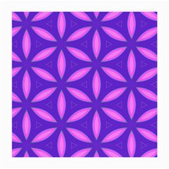 Pattern Texture Backgrounds Purple Medium Glasses Cloth (2 Sides) by HermanTelo