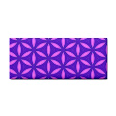 Pattern Texture Backgrounds Purple Hand Towel