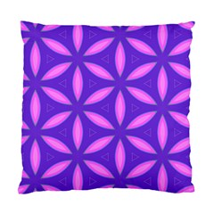 Pattern Texture Backgrounds Purple Standard Cushion Case (Two Sides)