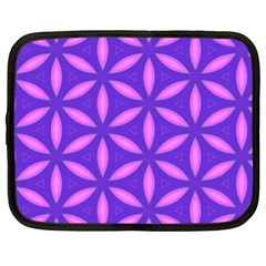 Pattern Texture Backgrounds Purple Netbook Case (xl) by HermanTelo