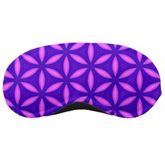 Pattern Texture Backgrounds Purple Sleeping Mask