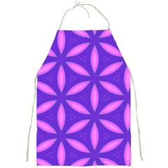 Pattern Texture Backgrounds Purple Full Print Apron
