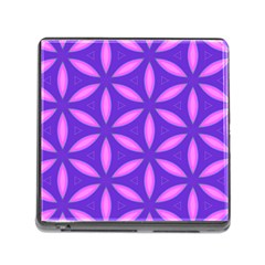 Pattern Texture Backgrounds Purple Memory Card Reader (Square 5 Slot)