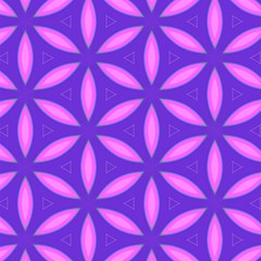 Pattern Texture Backgrounds Purple Magic Photo Cube