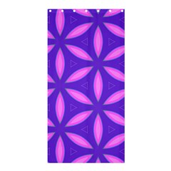 Pattern Texture Backgrounds Purple Shower Curtain 36  x 72  (Stall)