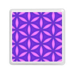 Pattern Texture Backgrounds Purple Memory Card Reader (square)