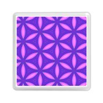 Pattern Texture Backgrounds Purple Memory Card Reader (Square) Front