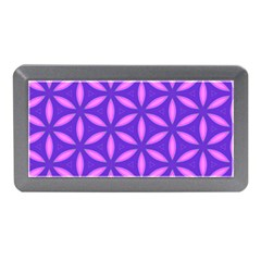 Pattern Texture Backgrounds Purple Memory Card Reader (Mini)
