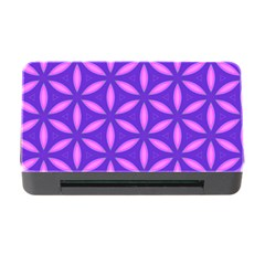 Pattern Texture Backgrounds Purple Memory Card Reader with CF