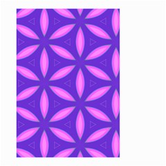 Pattern Texture Backgrounds Purple Small Garden Flag (Two Sides)
