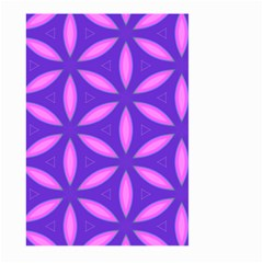 Pattern Texture Backgrounds Purple Large Garden Flag (Two Sides)
