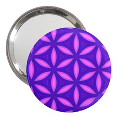 Pattern Texture Backgrounds Purple 3  Handbag Mirrors by HermanTelo