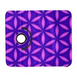 Pattern Texture Backgrounds Purple Samsung Galaxy S  III Flip 360 Case Front