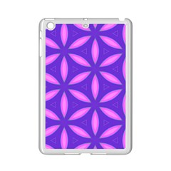 Pattern Texture Backgrounds Purple iPad Mini 2 Enamel Coated Cases