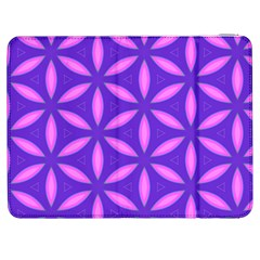 Pattern Texture Backgrounds Purple Samsung Galaxy Tab 7  P1000 Flip Case