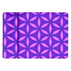 Pattern Texture Backgrounds Purple Samsung Galaxy Tab 10.1  P7500 Flip Case